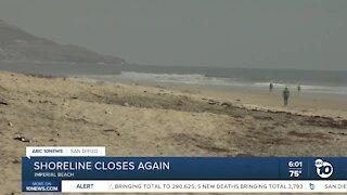 IB beach closure