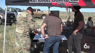 Idaho National Guard promotes shooting safety on the OCTC