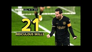 21 Ridiculous Messi- With Commentaries