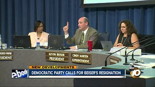 Democratic Party calls for Beiser's resignation