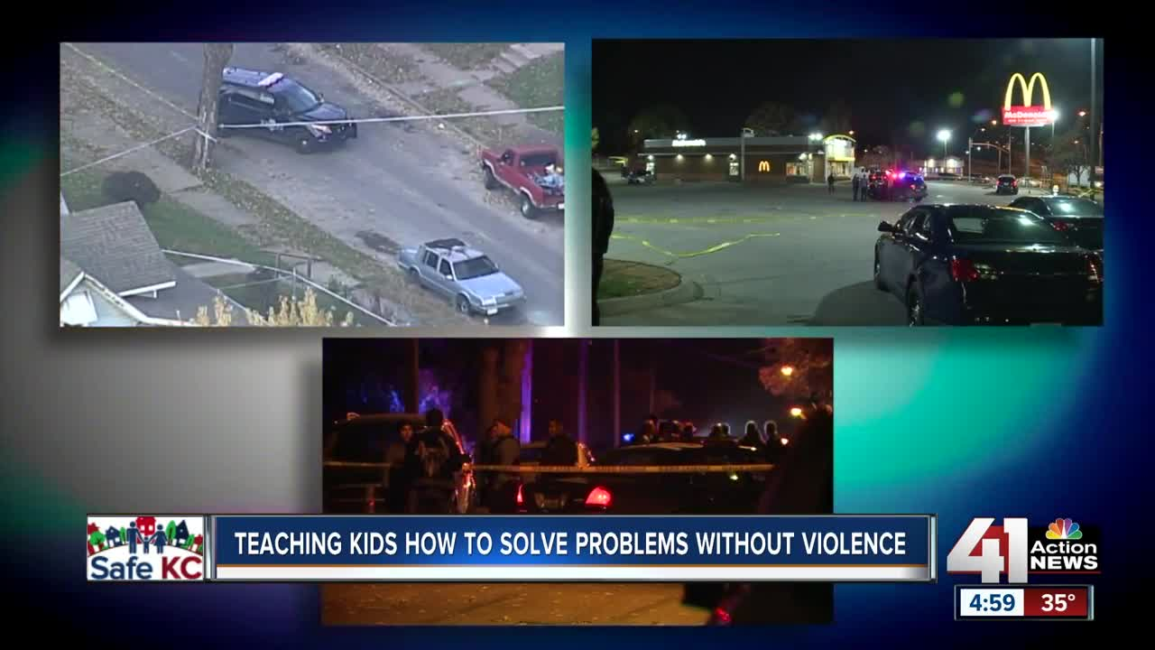 KCMO leaders working with youth on violent crime issue
