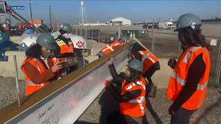 CSU hosts topping off ceremony at new campus