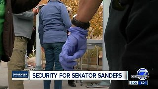 Bernie Sanders stumps for Democrat Jared Polis in Colorado