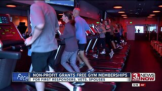 Non-profit grants free gym memberships for first responders