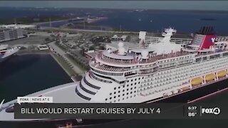 Florida Senators introduce cruise act to resume cruise line operations