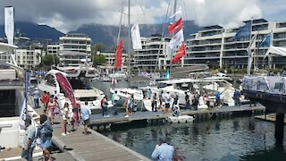 SOUTH AFRICA - Cape Town - Cape Town International Boat Show (Video) (r4W)