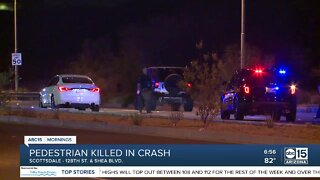 Pedestrian hit and killed near 128th Street and Shea Boulevard