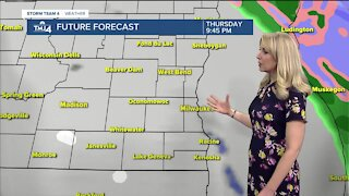 Possible sprinkles Wednesday night