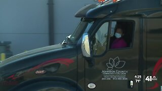 ESL students learn new skills in trucking at JCCC
