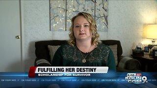 Tucson cancer survivor lands national scholarship