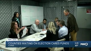 Counties waiting on election CARES funds