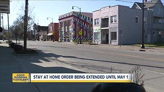 Stay at home order extended until May 1