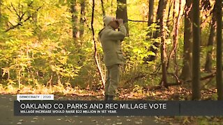 Oakland County parks and recreation millage vote