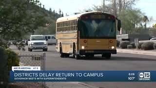 State leaders, district superintendents discuss school reopening concerns