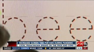 Kids and screen time during pandemic