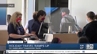 Health officials warning against travel for Thanksgiving