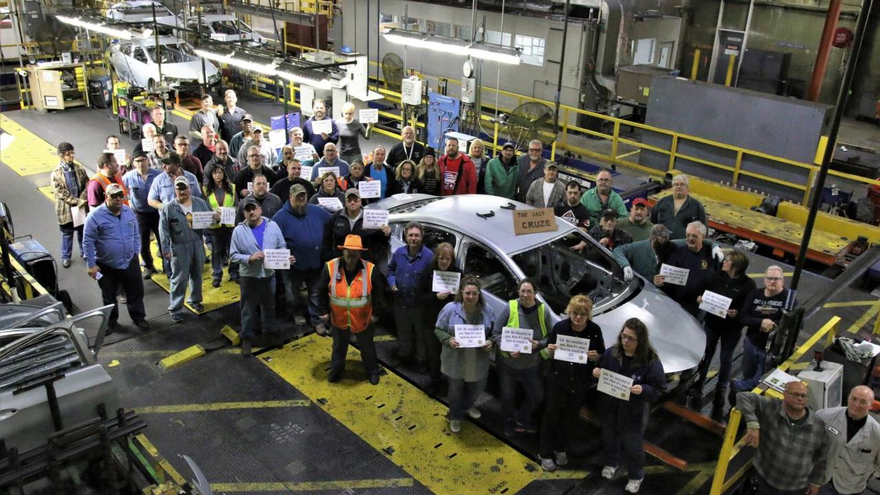 General Motors announces sale of Lordstown plant to electric truck company