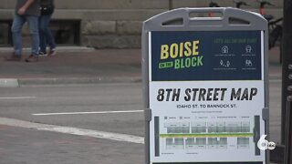 8th Street in downtown Boise closed for expanded patio space