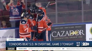 Bakersfield Condors Force Game 3