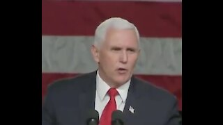 Pence CONFIRMS Something Is Coming