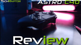 Astro C40 Review | Best PS4 Controller?