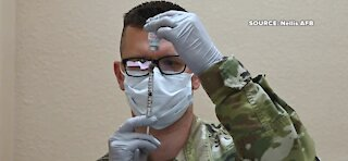 Nellis Air Force Base begins administering COVID-19 vaccine
