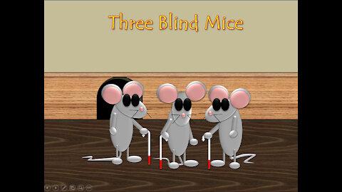 3 Blind Mice nursery rhyme