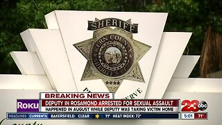 Kern County Sheriff's Deputy Arrested for Sexual Assault