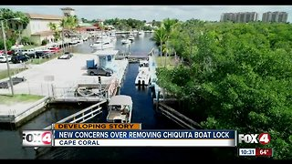 New concerns over removing Chiquita boat lock in Cape Coral