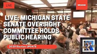 🔴 LIVE: Michigan State Senate Oversight Committee Hearing Morning