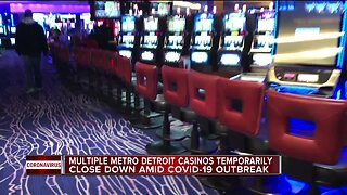 MGM Grand Detroit, Greektown & MotorCity casinos temporarily closing amid COVID-19 outbreak