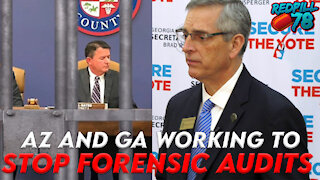 Forensic Audit Obstruction in Arizona and Georgia