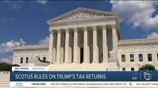 SCOTUS on Trump's tax returns