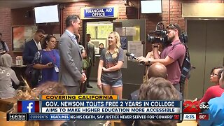 California program to provide 2 years of free tuition to community college students