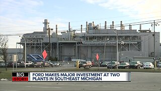 Ford to invest $1.45 billion, add 3,000 jobs at 2 metro Detroit plants