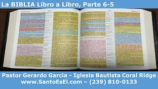 2020 11 08 Escuela Dominical - La BIBLIA Libro a Libro, Parte 6-5