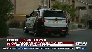 Police investigate after child accidentally shoots child
