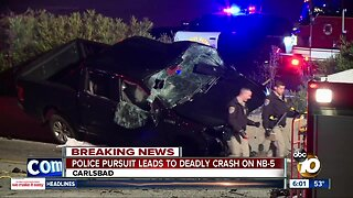 Suspect speeding wrong-way on I-5 leads to deadly crash