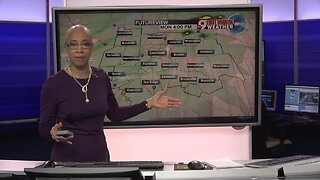 Your Sunday evening forecast