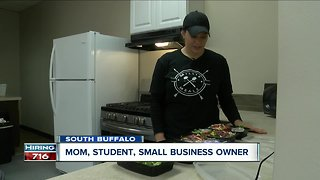 Mom, student, small business owner: How one Buffalo woman is doing it all