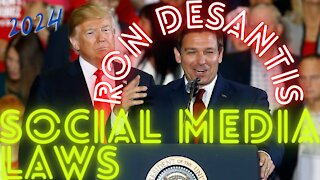 Ron DeSantis Social Media Laws