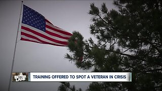 Training program aims to help first responders recognize a veteran in crisis