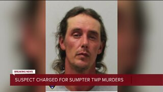 Suspect charged for Sumpter Township murders