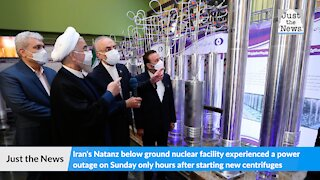 Iran says atomic site outage was caused by 'nuclear terrorism'