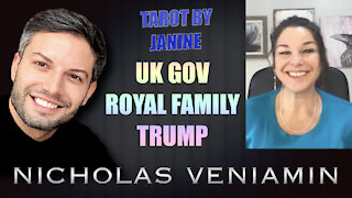 Tarot By Janine Discusses UK Gov, Royal Family and Trump with Nicholas Veniamin
