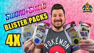 Sword & Shield Blister Packs | Pokemon Opening