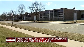 Impact of decision to close schools for three weeks