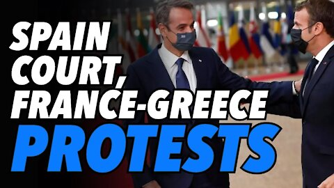 Spanish Court rules on restrictions. Macron & Mitsotakis usher in dystopian passport future