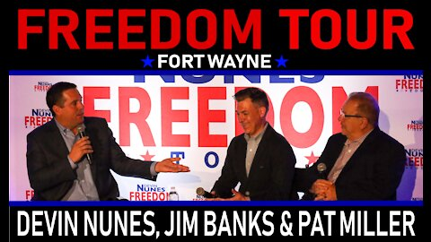 Freedom Tour Indiana: Exclusive with Rep. Jim Banks on Pelosi's Jan. 6 Witch Hunt
