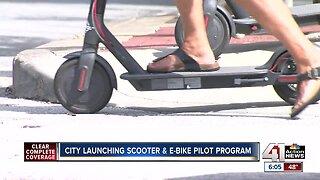 Kansas City launches yearlong scooter, e-bike program